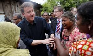 David Cameron in Jaffna