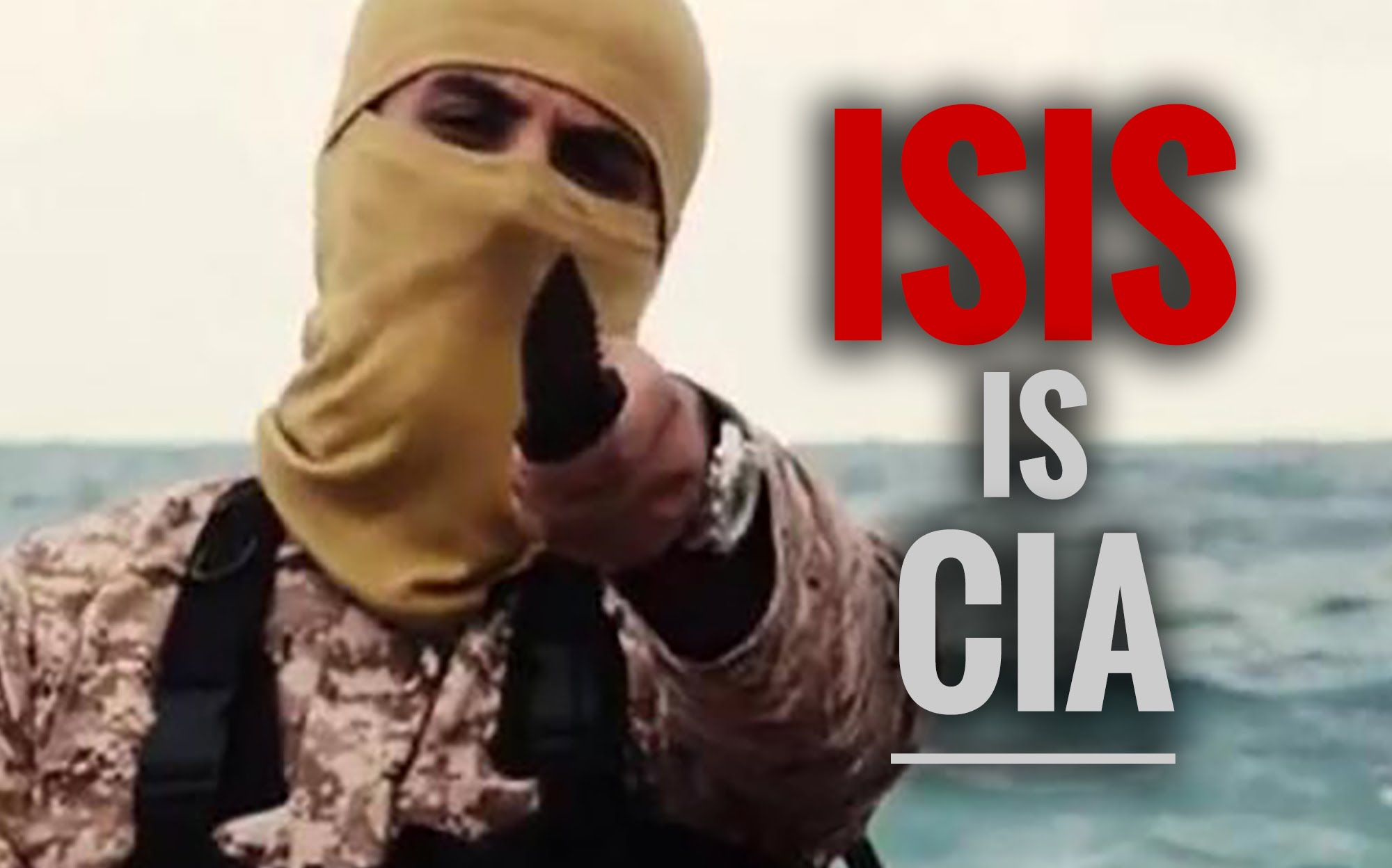 ISIS was created by the CIA and Mossad