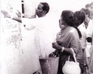 V.DharmalingamwithMrs.M.Amirthalingamin1972
