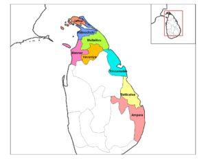 North_Eastern_Sri_Lanka_districts